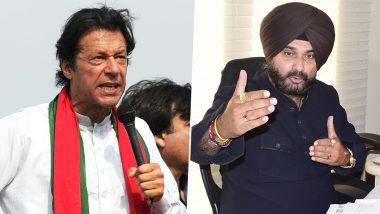 इमरान खान के शपथ ग्रहण में जाकर बुरे फंसे नवजोत सिंह सिद्धू