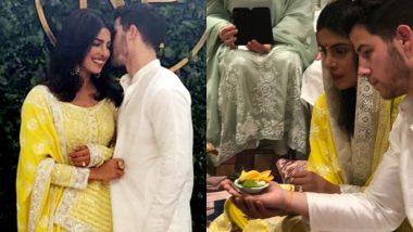 Inside Pics: प्रियंका-निक की रोका सेरेमनी से सीधी तस्वीरें, बधाई देने पहुंची अर्पिता खान
