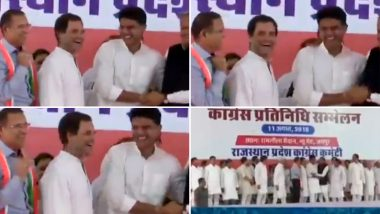 जयपुर: सभा के दौरान राहुल गांधी ने राष्ट्रगान का कियाअपमान, Video हुआ वायरल