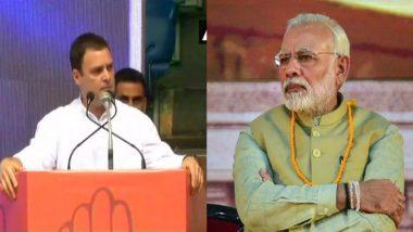 राहुल गांधी का पीएम मोदी पर हमला, कहा- उन्होंने किसानों का एक भी पैसे का कर्ज माफ नहीं किया