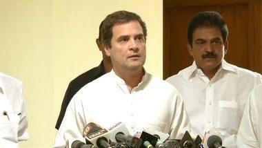 राहुल गांधी का पीएम मोदी पर हमला, कहा-बिना शर्त केरल को दी जाने वाली वित्तीय मदद को स्वीकार करना चाहिए