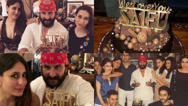Inside Videos: 48 साल के हुए सैफ अली खान, पार्टी में स्टार्स ने छलकाए जाम
