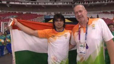 एशियाई खेल 2018: भारत के बेटे नीरज चोपड़ा ने रचा इतिहास, जेवलिन थ्रो में जीता गोल्ड मेडल