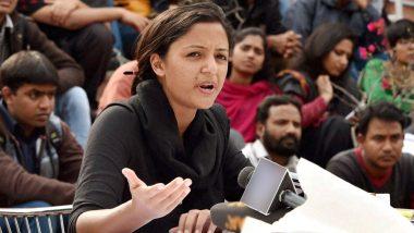 उमर खालिद पर हमले के बाद, JNU छात्र नेता शेहला रशीद को अंडरवर्ल्ड से मिली धमकी