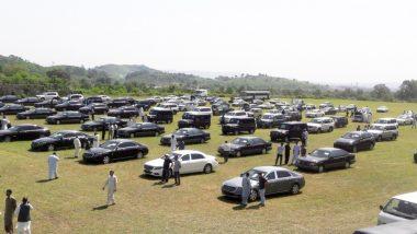 पाकिस्तान: सरकारी वाहनों की नीलामी के लिए रखी गई 49 लग्जरी कारों में सिर्फ एक की बिक्री हुई