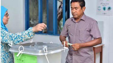 मालदीव में कड़ी सुरक्षा इंतजामात के बीच राष्ट्रपति चुनाव शुरू