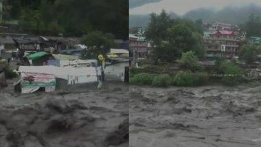 हिमाचल प्रदेश: कुल्लू-मनाली में बादल फटने से हालात खराब, उत्तर भारत के इन राज्यों में अलर्ट