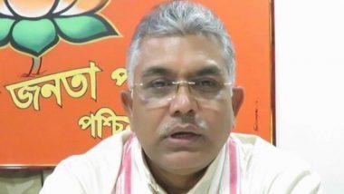 पश्चिम बंगाल बीजेपी अध्यक्ष दिलीप घोष के खिलाफ केस दर्ज, पुलिसकर्मियों और TMC कार्यकर्ताओं को पीटने को लेकर दिया था बयान