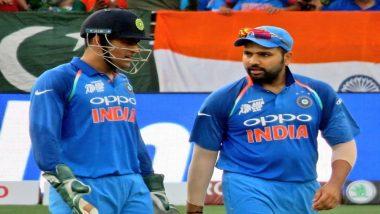 India vs Pakistan, ICC Cricket World Cup 2019: रोहित शर्मा ने धोनी को पछाड़कर हासिल किया ये बड़ा मुकाम
