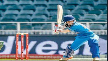 जेमिमा बनी भारत की पहली महिला हैट्रिक सिक्सर लगाने वाली खिलाड़ी
