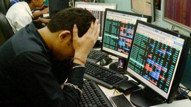 शेयर बाजार में भारी गिरावट, सेंसेक्स 495.10 अंक लुढ़कर हुआ बंद