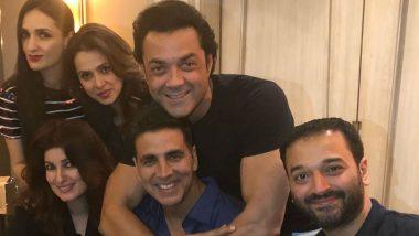 Party Pics: 51 साल के हुए खिलाड़ी अक्षय कुमार, परिवार और दोस्तों संग मनाया जश्न
