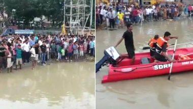 ब्रह्मपुत्र नदी में डूबी यात्रियों से खचाखच भरी नाव, कई लापता, बचाव अभियान जारी