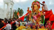 Ganesh Chaturthi 2020: महाराष्ट्र सरकार का बड़ा फैसला, गणेश उत्सव में 4 फुट से बड़ी प्रतिमा पर रोक, जारी हुआ गाइडलाइन