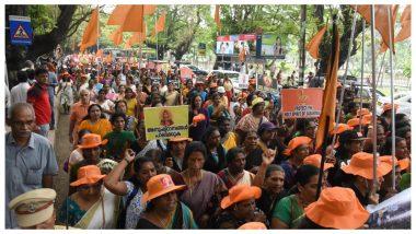 सबरीमाला विवाद: मंदिर में महिलाओं के प्रवेश के विरोध में केरल बंद