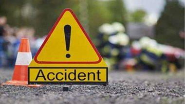 उत्तर प्रदेश : फिरोजाबाद में आगरा-लखनऊ एक्सप्रेसवे पर सड़क हादसे में 2 की मौत, 4 घायल