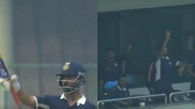 देवधर ट्रॉफी: रहाणे की शानदार पारी, लेकिन शतक से पहले ही उठा लिया अपना बल्ला, रैना ने ऐसे ली चुटकी: Video