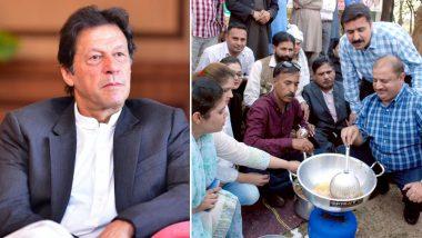 इमरान खान के खिलाफ हुए पाकिस्तान के पत्रकार, विरोध में संसद के बाहर तले पकौड़े