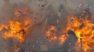 छत्तीसगढ़ के सुकमा जिले में नक्सलियों ने पांच वाहनों को किया आग के हवाले