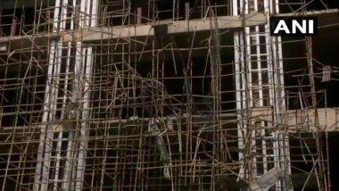 नोएडा में निर्माणाधीन बिल्डिंग की शटरिंग गिरी, 4 मजदूरों की मौत 6 घायल