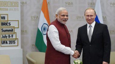 Afghanistan Crisis: पीएम मोदी ने अफगानिस्तान और द्विपक्षीय मामलों पर  रूसी राष्ट्रपति पुतिन से की बातचीत