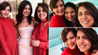 प्रियंका चोपड़ा की ब्राइडल शावर पार्टी में जमकर एन्जॉय करती दिखीं सोनाली बेंद्रे और नीतू सिंह, see pics