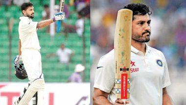 भारतीय टीम से बाहर चल रहे मुरली विजय और करूण नायर ने की सेलेक्टर्स से बगावत, कार्रवाई संभव