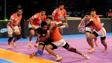 प्रो-कबड्डी लीग-6: जयपुर पिंक पैंथर्स को धूल चटाकर यू मुम्बा ने दर्ज की पहली जीत