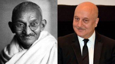 गांधी जयंती पर अनुपम खेर का मजेदार ट्वीट, कहा- बापू टेन्शन मत लेना, छोटी मोटी प्रॉब्लम्स है, पर...