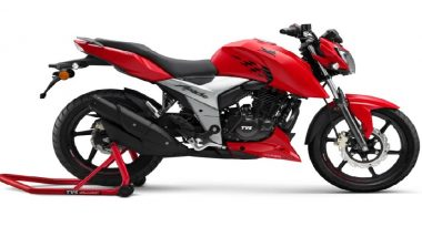 महज 6 महीने में टीवीएस मोटर ने 1 लाख से अधिक नई अपाचे मोटरसाइकिल बेची