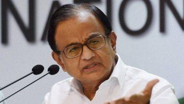कश्मीर विवाद: कांग्रेस नेता पी. चिदंबरम ने मोदी सरकार पर बोला हमला, नेताओं के नजरबंदी पर उठाये सवाल
