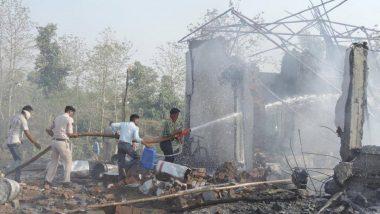 उत्तर प्रदेश के उन्नाव में पटाखा बनाते समय भीषण विस्फोट, एक की मौत
