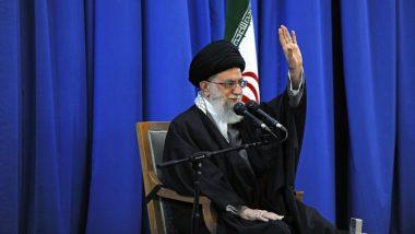 ईरानी नेता खामनेई का बड़ा बयान, कहा- हमें अमेरिका के प्रतिबंधों से लड़कर उन्हें पराजित करना होगा