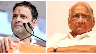 लोकसभा चुनाव 2019: महाराष्ट्र में 38 सीटों पर कांग्रेस और एनसीपी के बीच 'सहमति', बाकि पर फैसला जल्द