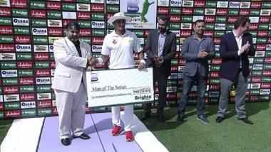 पाकिस्तान बनाम आस्ट्रेलिया: अब्बास के कमाल से पाक ने 1-0 से टेस्ट श्रृंखला अपने नाम किया
