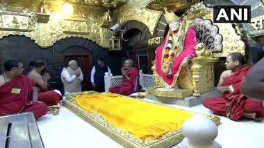 शिरडी: साईं समाधि के 100 साल पूरे, मंदिर में प्रधानमंत्री नरेंद्र मोदी ने की विशेष पूजा