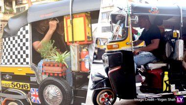 मुंबई में ऑटो रिक्शा चलाते हुए दिखे हॉलीवुड अभिनेता विल स्मिथ, देखें तस्वीरें
