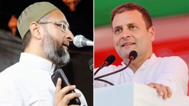 तेलंगाना विधानसभा चुनाव 2018: ओवैसी ने राहुल गांधी पर कसा तंज, बोले- कांग्रेस पॉकेटमारों की पार्टी