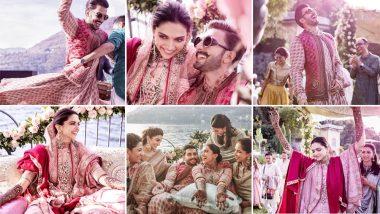 रणवीर और दीपिका ने अपनी शादी में जमकर मचाया धमाल, खूबसूरती से भरी हैं ये वेडिंग फोटोज