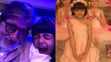 अमिताभ बच्चन ने पोती आराध्या को जन्मदिन पर दी दुआएं, कहा- मैं आशीष देता हूं कि तुम्हारी सभी मनोकामनाएं पूर्ण हो