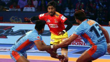 प्रो कबड्डीः के प्रपंजन के सामने पस्त हुए बंगाल वॉरियर्स, गुजरात 35-23 से जीता