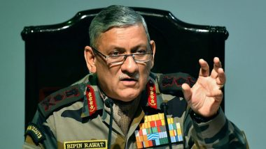 आर्मी चीफ बिपिन रावत का बयान, कहा- Indian Army में 'गे' लोगों को शामिल होने की अनुमति नहीं दे सकते