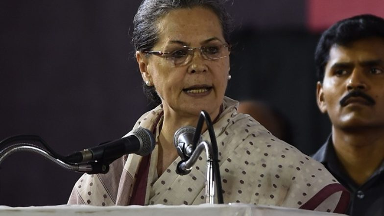 सोनिया गांधी ने रायबरेली की जनता को लिखा पत्र, लोकसभा चुनाव में जीत के लिए आप सब का तहे दिल से धन्यवाद