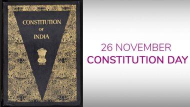 Constitution Day 2018: भारतीय संविधान की गरिमा को जानकर आपको भी होगा गर्व, जानिए इस खास दिन के लिए 26 नवंबर को क्यों चुना गया