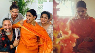 शुरू हुई दीपिका पादुकोण की शादी की रस्म, सामने आई नंदी पूजा की खूबसूरत पिक्चर्स