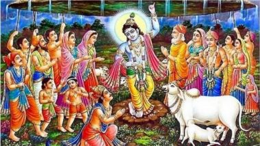 Govardhan Puja 2018: कैसे हुई गोवर्धन पूजा की शुरुआत, भगवान कृष्ण ने क्यों उठाया था पर्वत