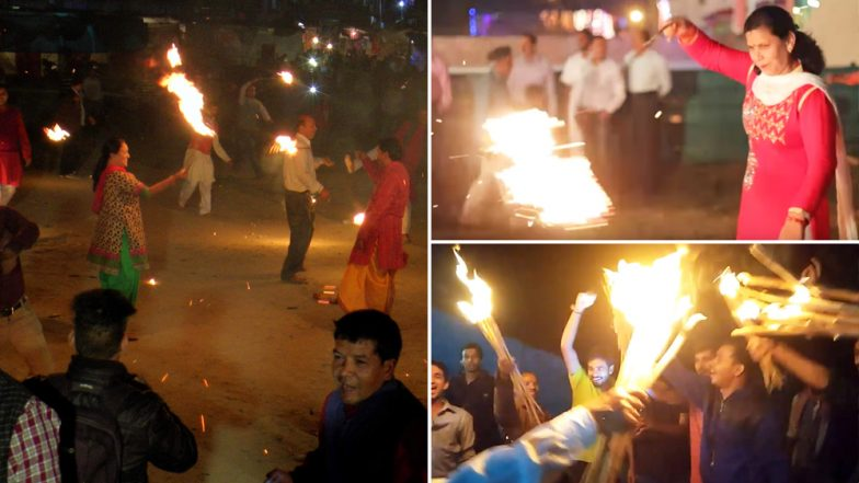 Image result for उत्तराखंड में बेहद खास अंदाज में मनाया जाता है दीपों का त्योहार 'दिवाली '