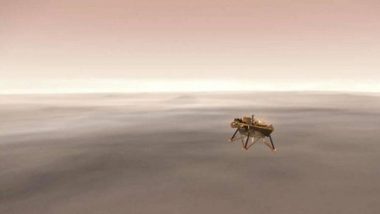 30 करोड़ मील की दूरी तय कर मंगल ग्रह पर लैंड हुआ NASA का Insight, 26 महीने तक करेगा ये काम