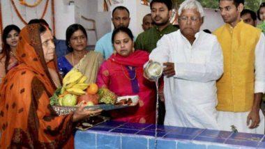 पूर्व मुख्यमंत्री राबड़ी देवी इस बार नहीं करेंगी छठ पूजा, बताई जा रही है ये वजह