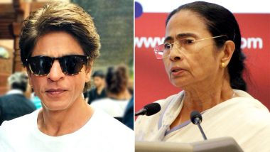 पश्चिम बंगाल की मुख्यमंत्री ममता बनर्जी ने शाहरुख खान को जन्मदिन की बधाई दी